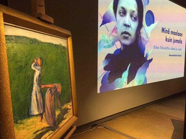 Ellen Thesleff-luennot Tampereella 27.9. ja 10.12.2018