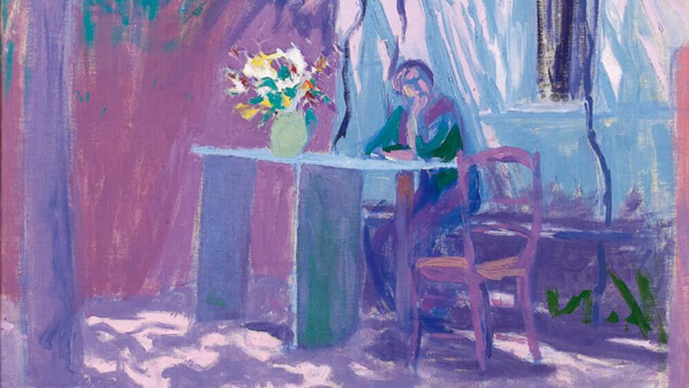 Ellen Thesleff Oulun taidemuseossa 2020