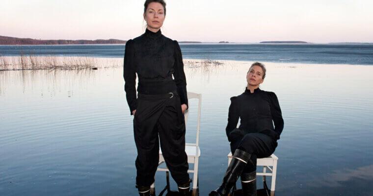 Kaksi näyttelijää, yksi omakuva – näyttämöteoksen syntyprosessi